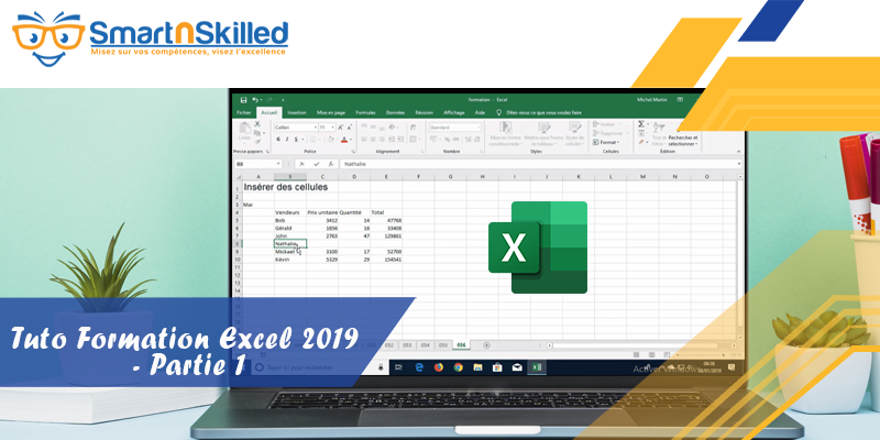 Excel 2019 - Partie 1